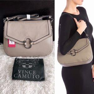 ✨New VINCE CAMUTO Jonna Leather Shoulder Handbag